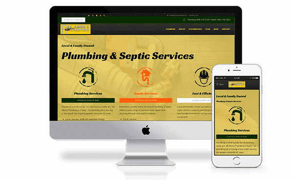 Web Design for Plumbing Companies
